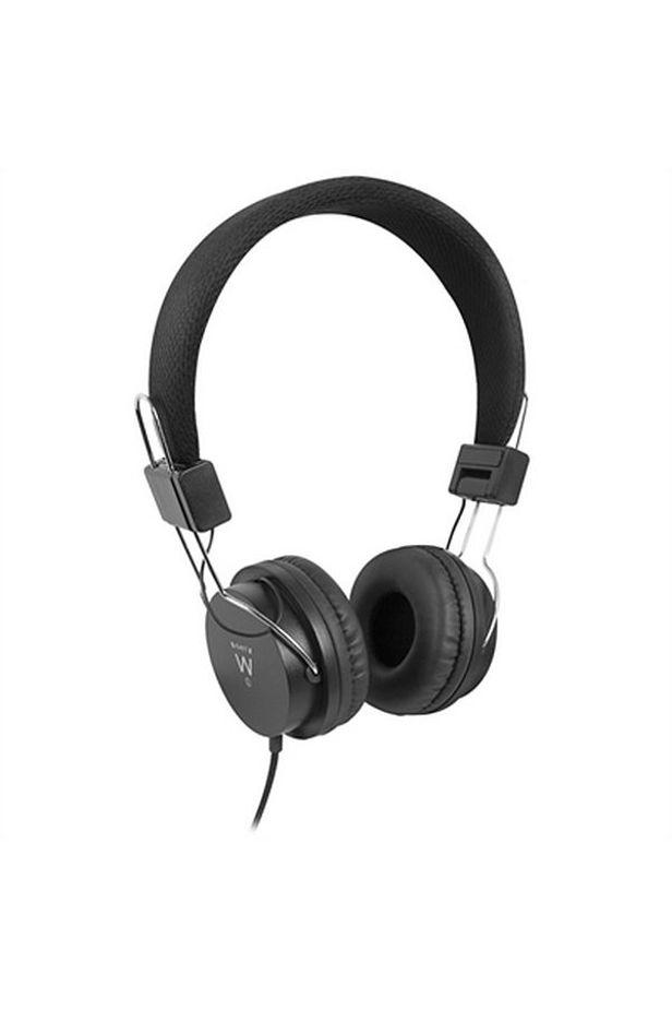 Headphones Ewent EW3573 (3.5 mm) Black