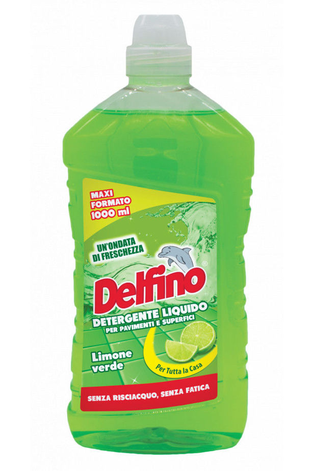 Delfino floor cleaner green lemon (limone verde) 1l