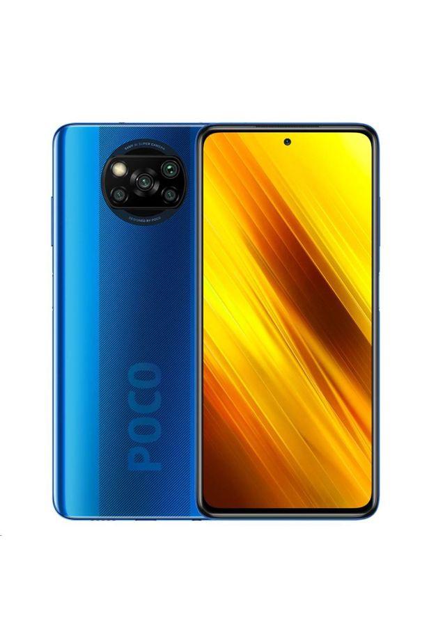 Xiaomi Poco X3 NFC 6 / 128GB Dual-Sim Mobile Phone Blue (MZB07TEEU)