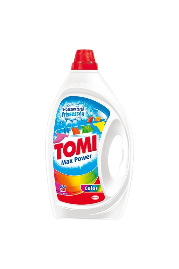 Tomi Max Power Color detergent for colored textiles 40 washes 2 l