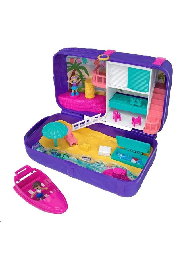 Mattel Polly Pocket: Large beach toy set / FRY39 / FRY40 /
