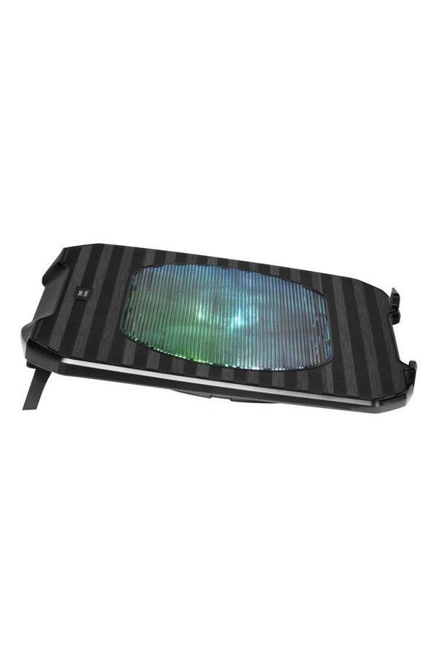Base de Refrigeración Gaming para Portátil Mars Gaming MNBC0 RGB Fekete