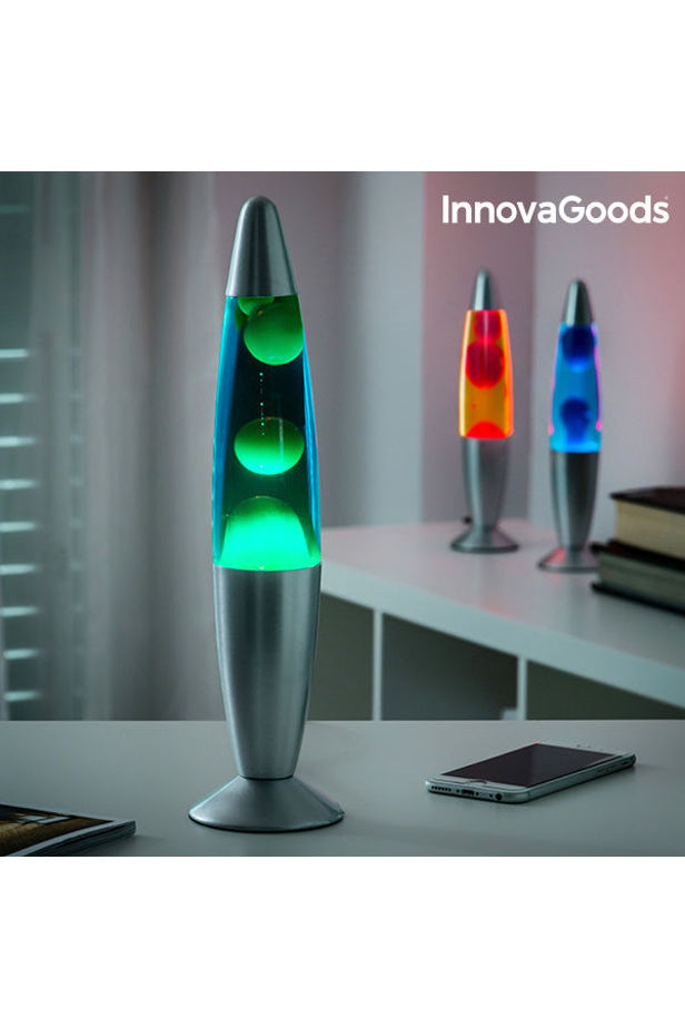 InnovaGoods Magma Lava Lamp 25W - Zöld