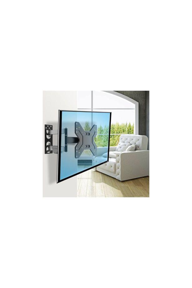 Falra rögzíthető, kihajtható TV tartó konzol, 14-42