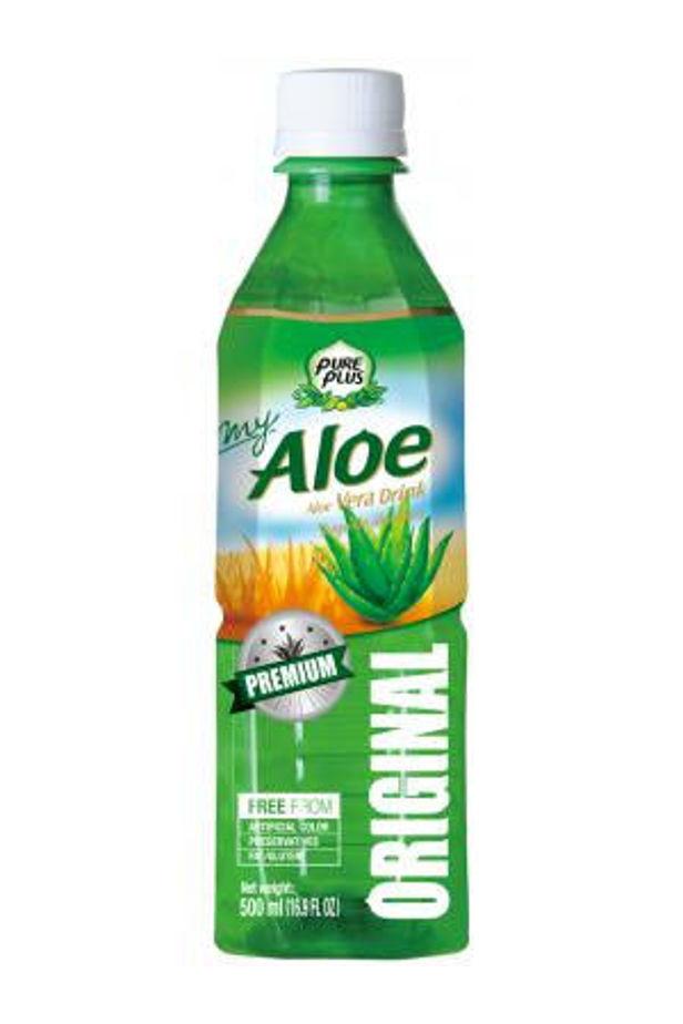 Pure Plus aloe verás ital natúr 500ml