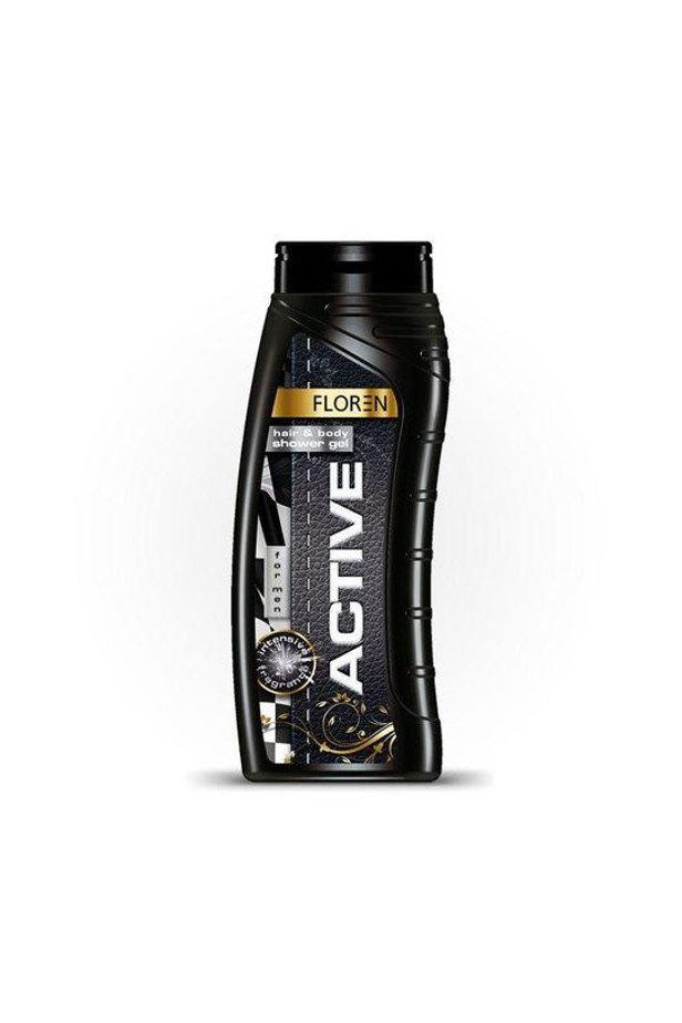 Floren shower gel & shampoo active 500ml