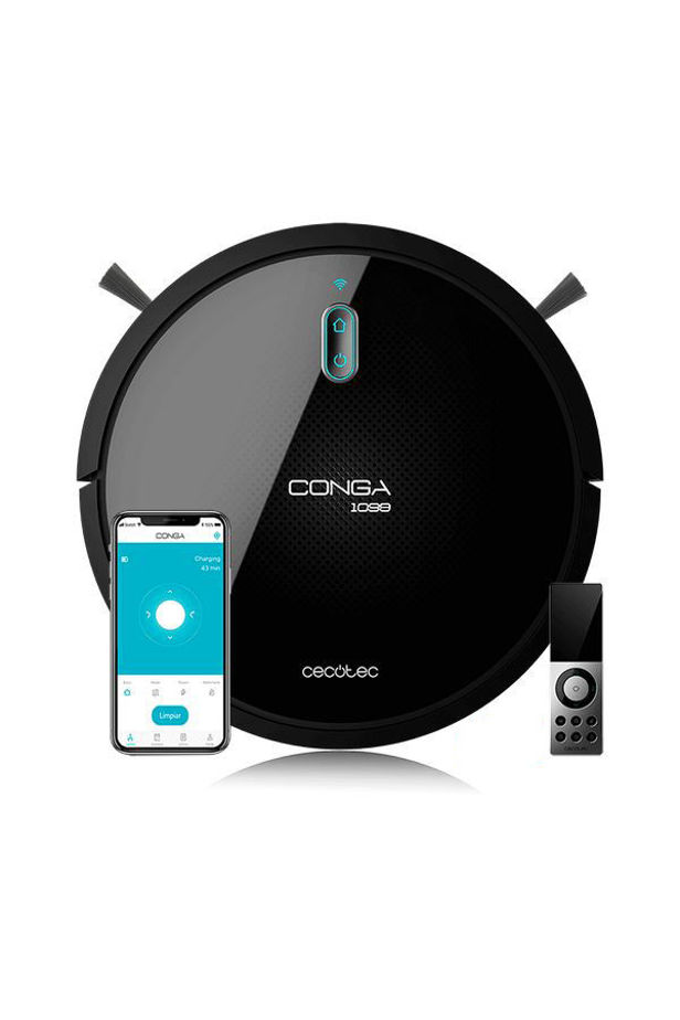 Robot Vacuum Cleaner Cecotec Conga 1099 Connected 1400 Pa 64 dB WiFi Black
