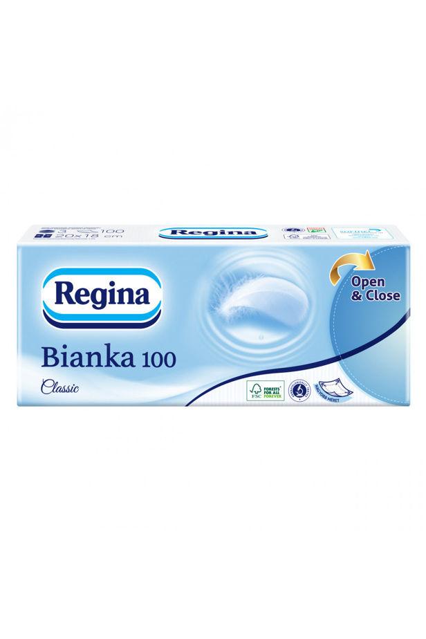 Regina Bianka handkerchief Classic 100 pcs / 3 layers