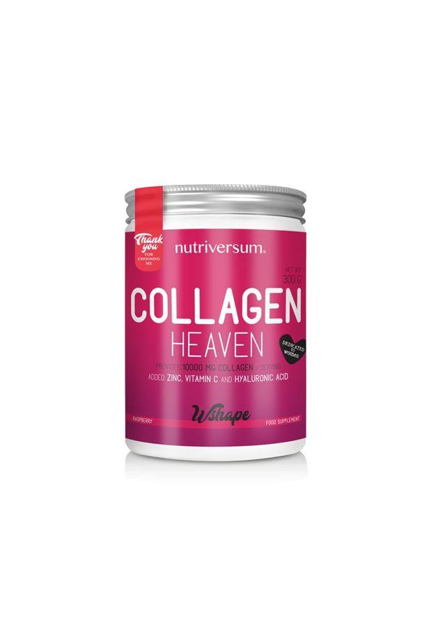Nutriversum - WSHAPE - Collagen Heaven - málna
