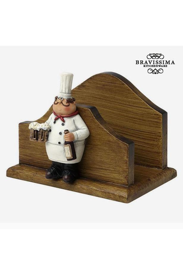 Napkin holder Bravissima Kitchen 8953 (13 x 10 x 10.1 cm)