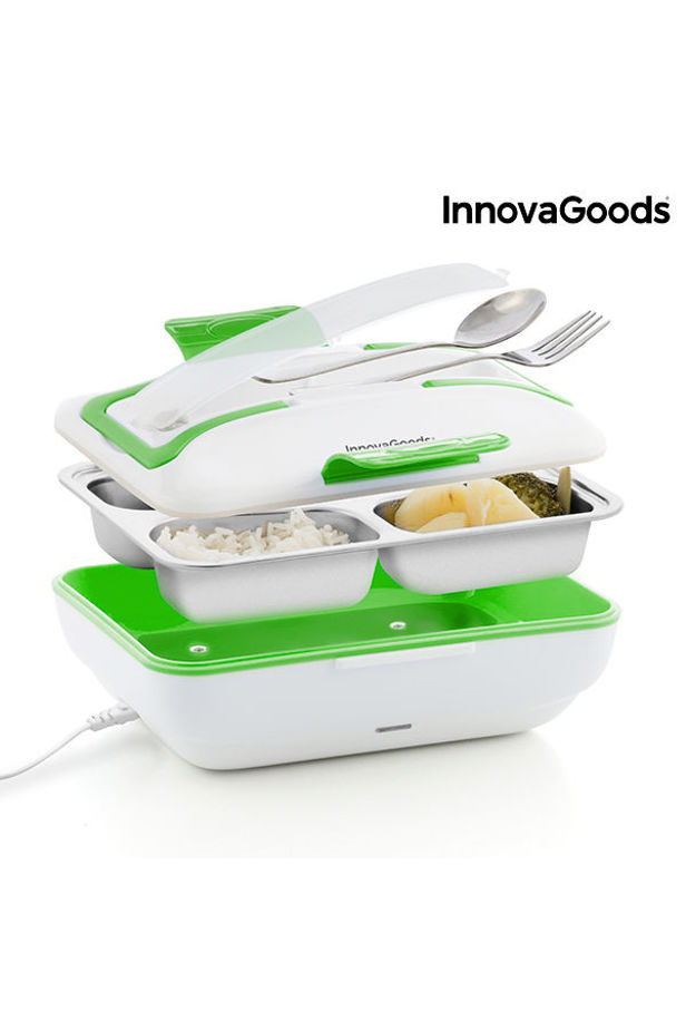 InnovaGoods Pro Electric Food Heater 50W White Green