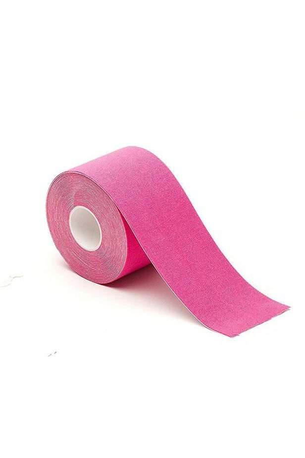 Kinesiological patch, 4 colors, 5 cm x 5 m - Pink