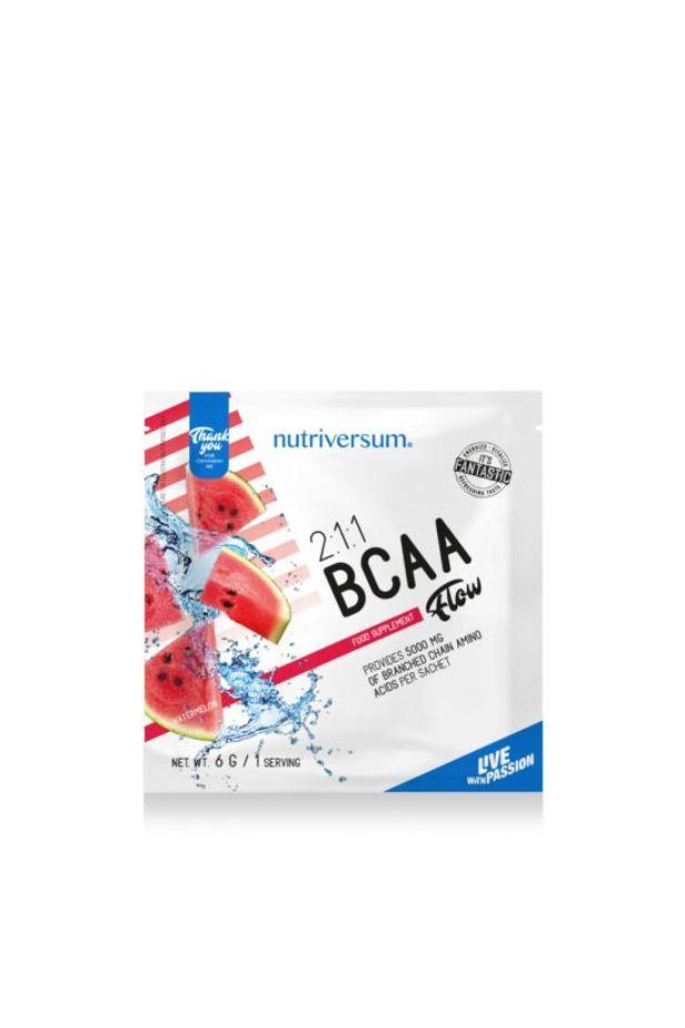 Nutriversum -FLOW - 2: 1: 1 BCAA 6 g - görögdinnye