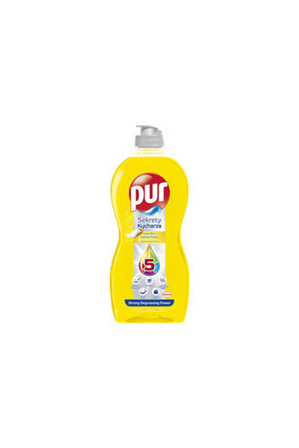 Pur hand dishwashing detergent Secrets of the Chef Soda Effect Lemon Extra 450 ml
