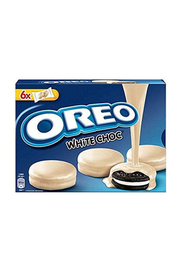 Oreo keksz fehércsokoládé bevonattal 246g