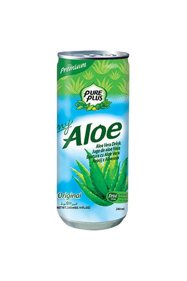 Pure Plus aloe verás ital natúr 240ml