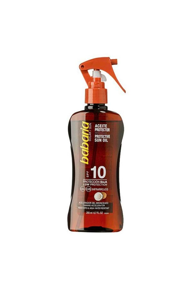 Sun protection oil Babaria Spf 10 (200 ml)