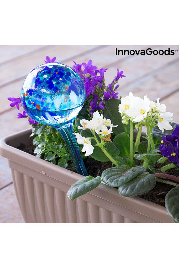 Automata öntöző földgömbök Aqua·loon InnovaGoods (2 Darab)