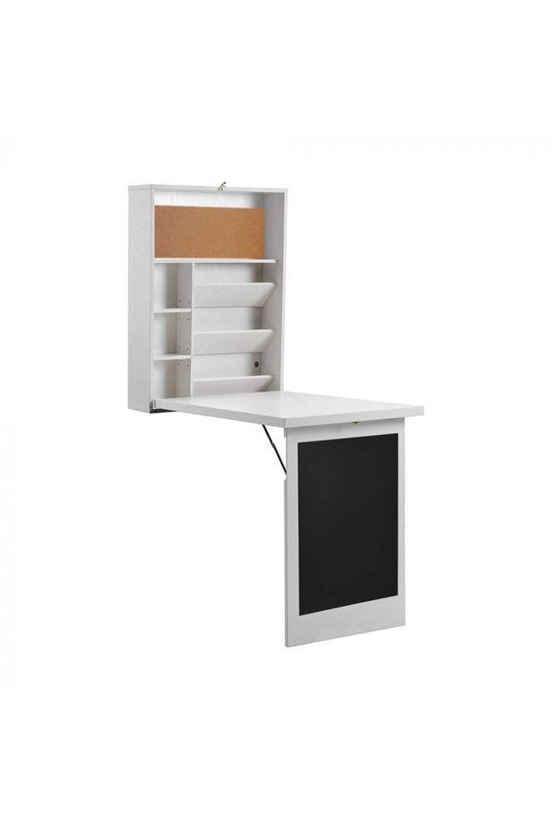 Lehajtható asztal 2 színben - Fehér