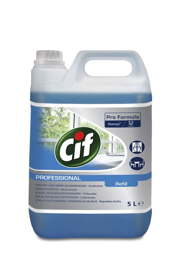 Cif Professional window and surface cleaner 2x5l (75186542)