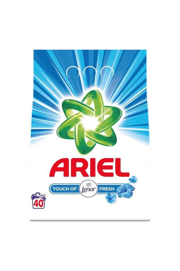 Ariel washing powder Touch of Fresh Lenor 30 wash 3kg